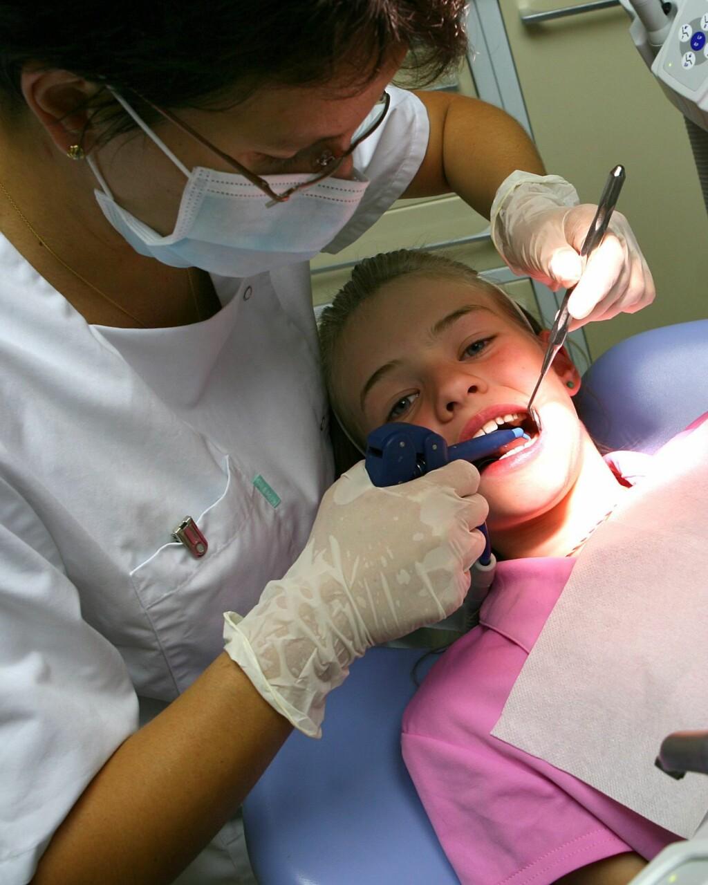 ©Gwenael Knichel/MAXPPP - Visite de controle reguliere chez le dentiste  ILLUSTRATION Foto: MAXPPP