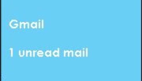 Med Bubbles får du beskjed når du får ny e-post.