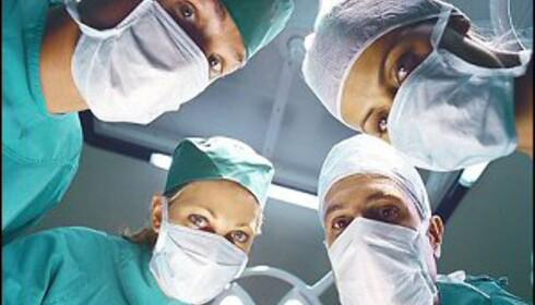Må du opereres? I USA er det grisedyrt. Foto: Colourbox