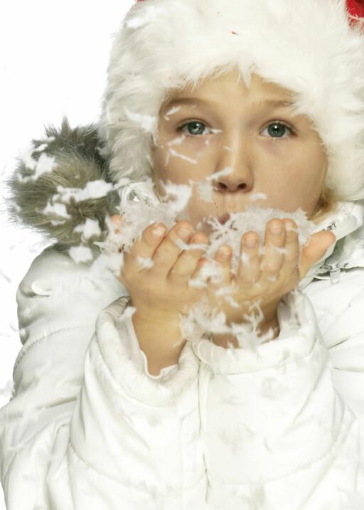 Du kan bli syk av å spise snø, men mark får du ikke. Illustrasjonsfoto: Colourbox.com Foto: Illustrasjonsfoto: Colourbox.c