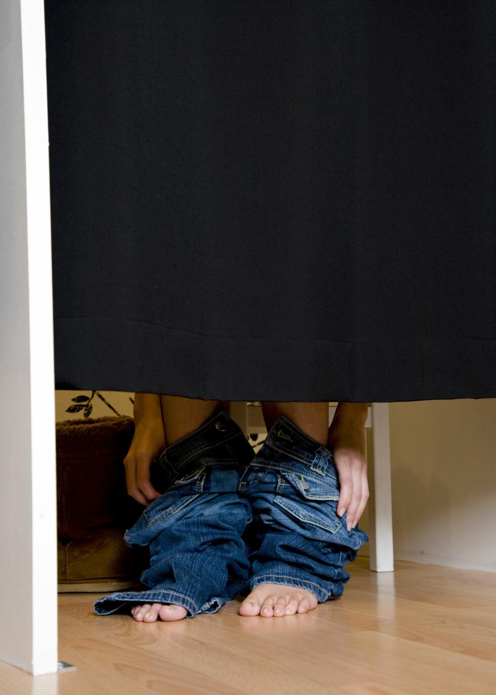 Hvis du har problemer med å finne klær som passer, så er du ikke alene. Illustrasjonsfoto: colourbox.com  Foto: Illustrasjonsfoto: colourbox.c