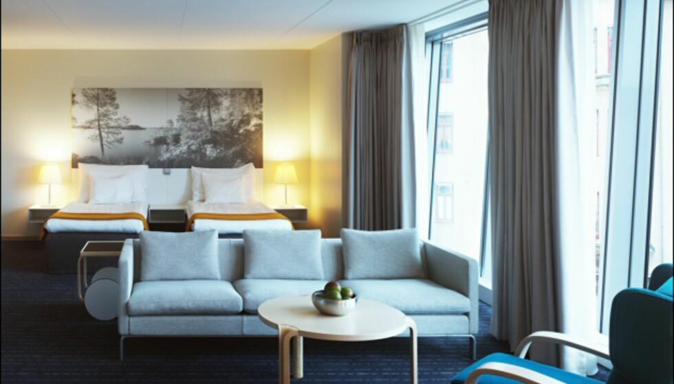 - og de finske har Alvar Aalto-møbler. Foto: Clarion Hotel Sign