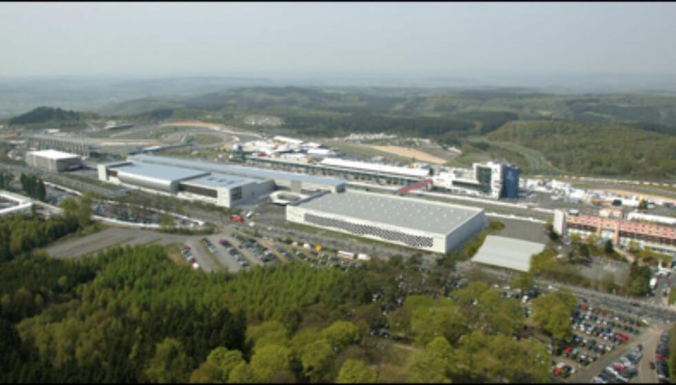 ... og slik skal det bli når Nürburgring 2009 står klar. Foto: Nürburgring GmbH / Urner