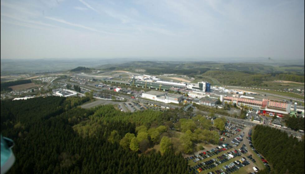Slik ser området ut i dag ... Foto: Nürburgring GmbH / Urner