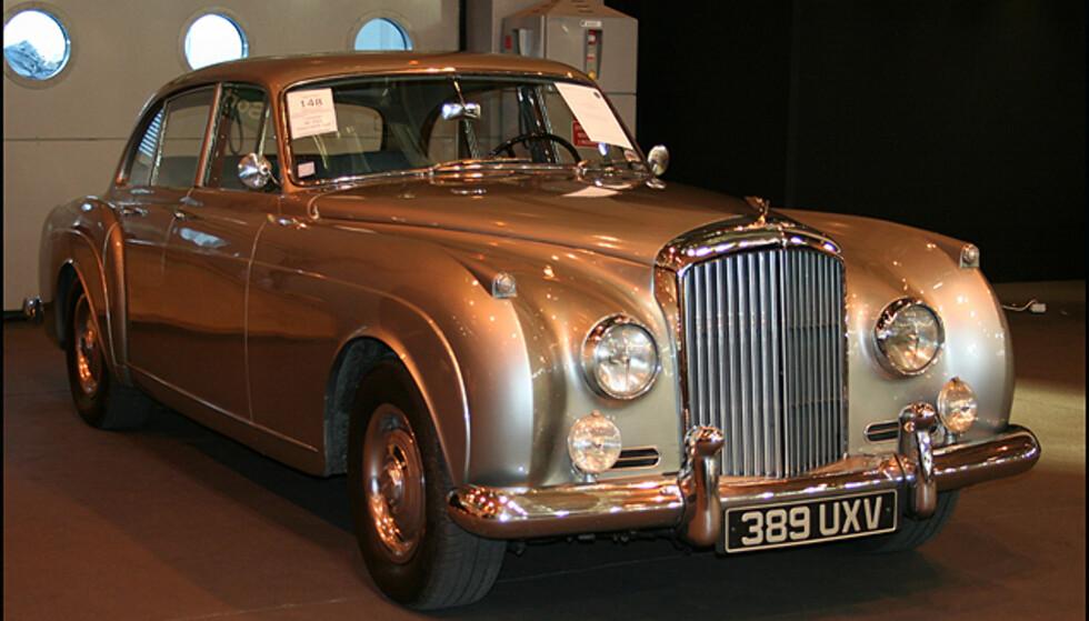 En klassisk Bentley fra 50-tallet