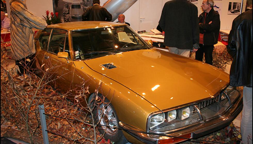 Citroën SM - med Maserati-motor