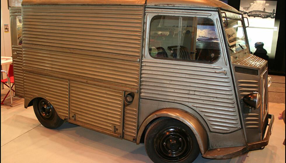 En legendarisk Citroën-kassebil. Har noen en bokseåpner?