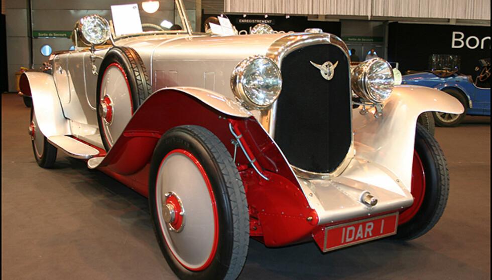 En Farman A6B Torpedo Supersport som har tilhørt en indisk Maharaja. Fransk luksus fra 20-tallet.