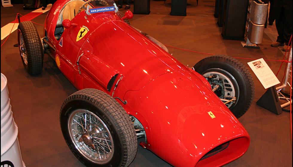 Alberto Ascaris Ferrari 500 som han ble verdensmester med i sesongen 1952/1953