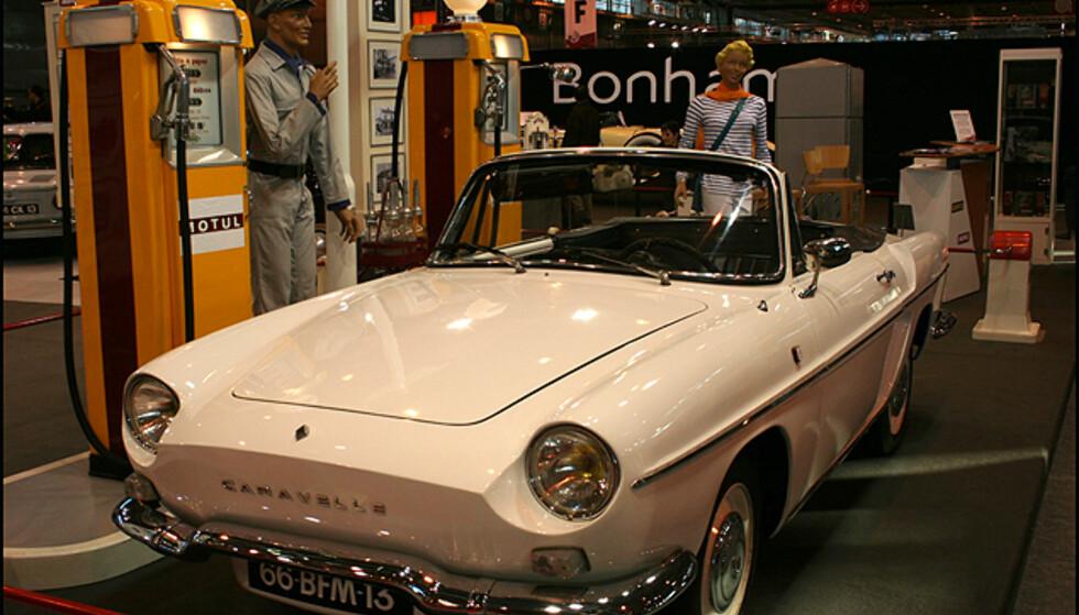 Renault Caravelle, kabriolet som etterfulgte Floride, lansert i 1958.
