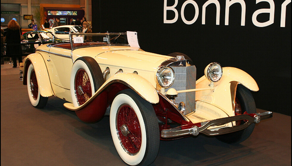 Solgt for 18,5 millioner: En meget spesiell Mercedes type S
