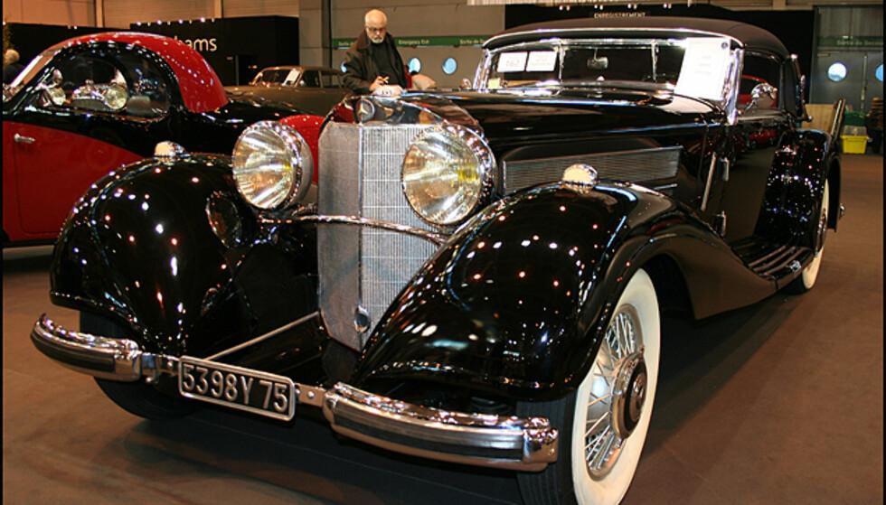 Mercedes-Benz 500K cabriolet fra 1936
