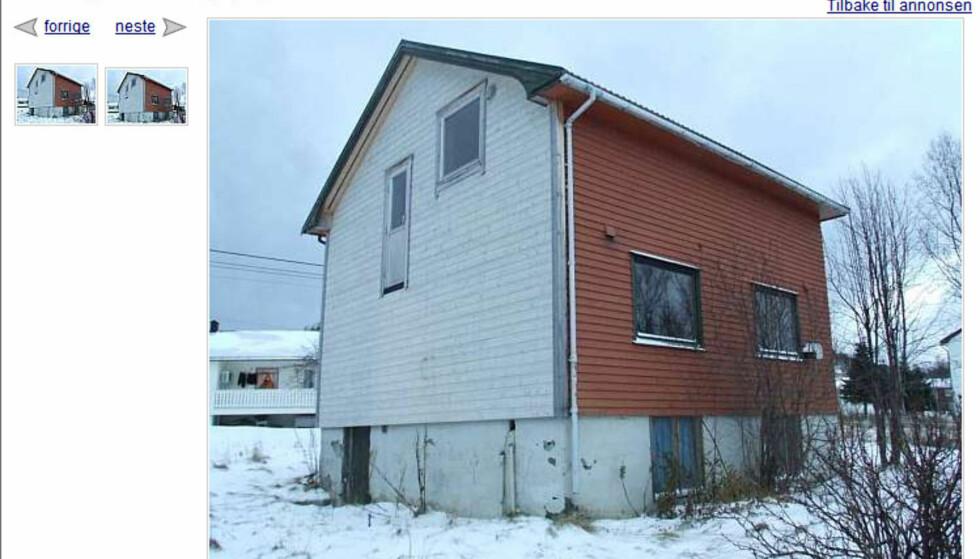 Feriebolig i Nordland kommune? Denne boligen trenger oppgradering, men med en pris på 250.000 kroner blir det i hvert fall penger til overs etter boligkjøpet.  FAKSIMILE FRA FINN.NO