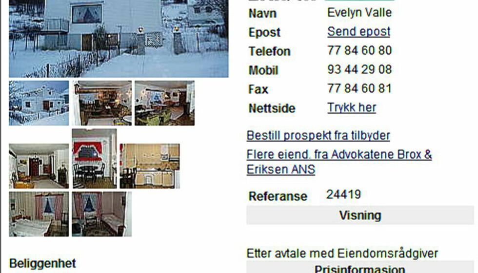 God plass? Reis til Senja. Denne eiendommen består av hus, uthus og tre mål tomt. Herligheten koster 280.000 kroner.  FAKSIMILE FRA FINN.NO
