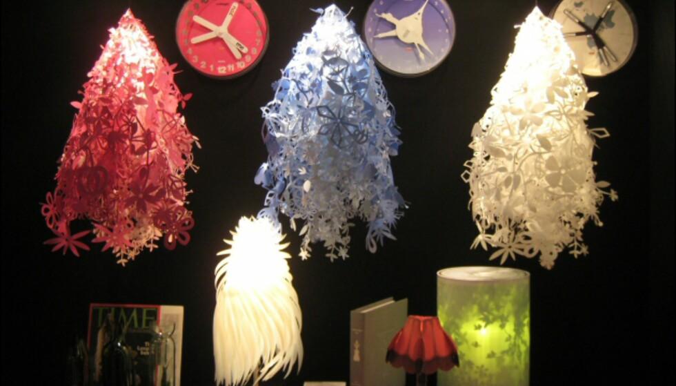 En kommende klassiker? Midsummer Light av Tord Boontje for Artecnica har vært en stor suksess de par-tre årene den har vært i salg. Foto: Elisabeth Dalseg