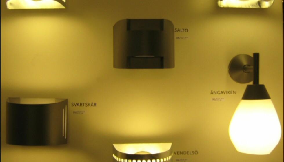 Moderne utendørsbelysning fra Belid