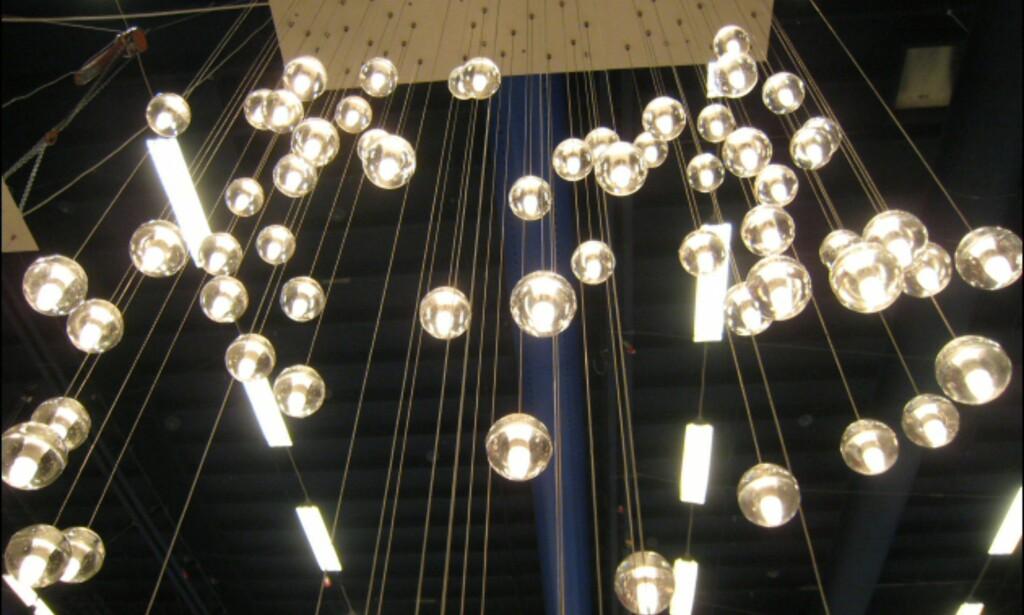 Nydelige glasslamper fra Bocci. Kjøpes enkeltvis.