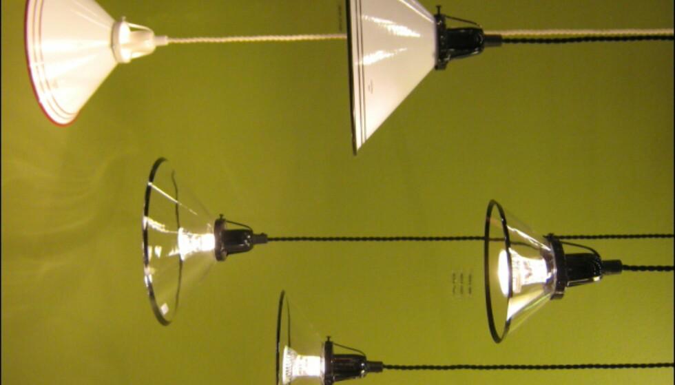 Ny vri på den klassiske skomakerlampen fra Konsthantverk Tyringe.