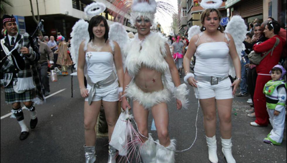Hvite engler ... Foto: www.lpacarnaval.com