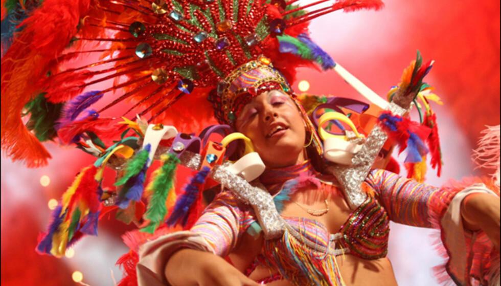 Fra et av de over 40 sceneshowene. Foto: www.lpacarnaval.com