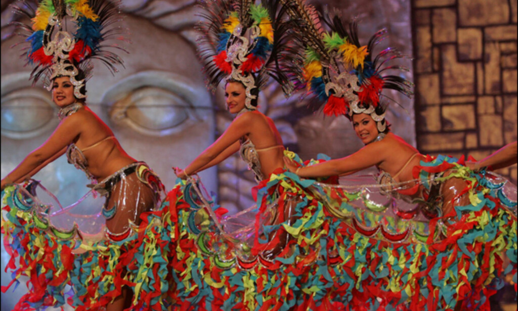 Showgirls. Foto: www.lpacarnaval.com