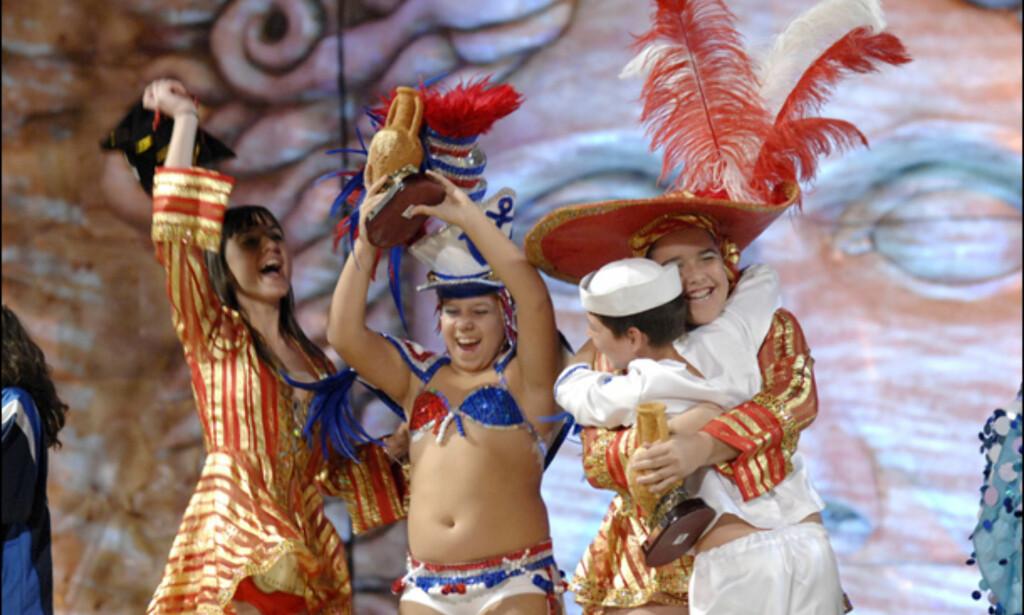 Barna er også med. Foto: www.lpacarnaval.com