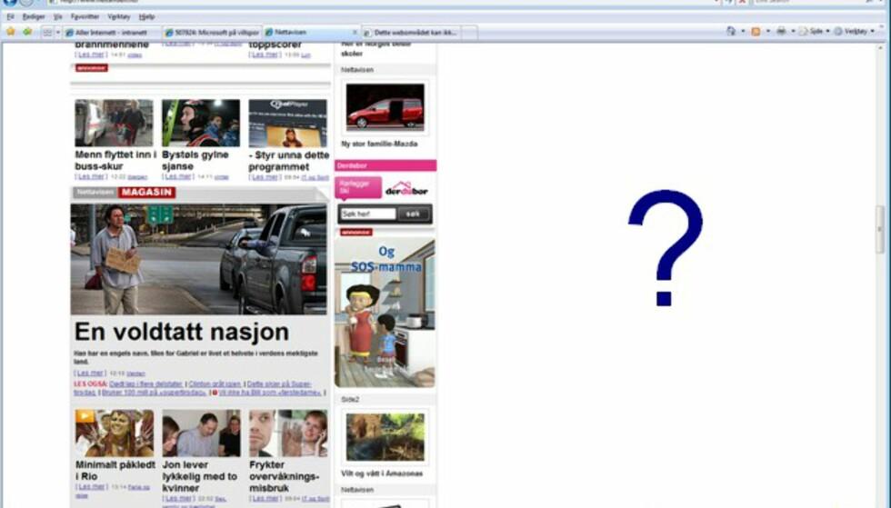 Noen bredskjermsurfere som kjenner seg igjen? (Fra Nettavisen.no)