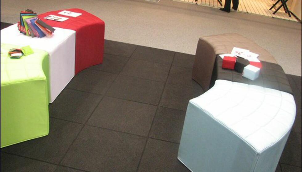 Nytt fra Fatboy. Avenue er puter/puffer som kan settes sammen på ulikt vis - og med ulike farger.