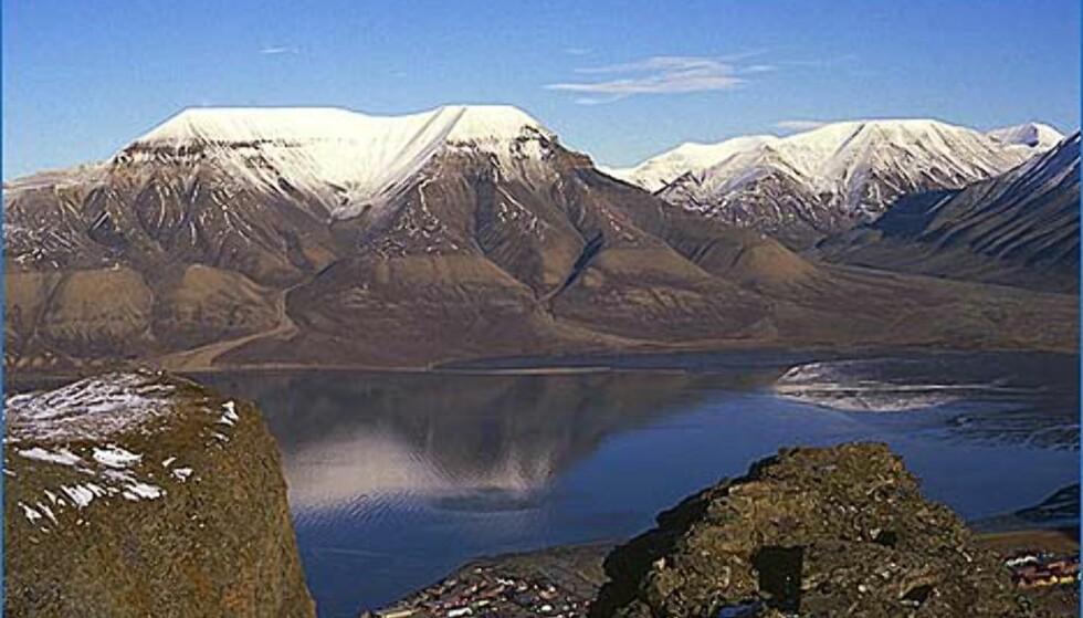 Kunne du tenke deg å bo her? Svalbard tilbyr nemlig ikke bare vakker natur, men også en del økonomiske goder. Hva synes du om å slippe å betale merverdiavgift, for eksempel? Foto: Stefan Lindgren