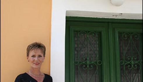 Jackie Banham (52) kom på ferie til Kefalonia. Hun dro aldri tilbake til Storbritannia.   Foto: Inga Ragnhild Holst