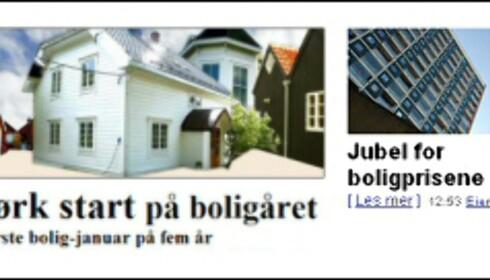 Mørk start eller full jubel? Stor forskjell på VG Nett og Nettavisens oppslag Montasje: DinSide.no Foto: Montasje; ED