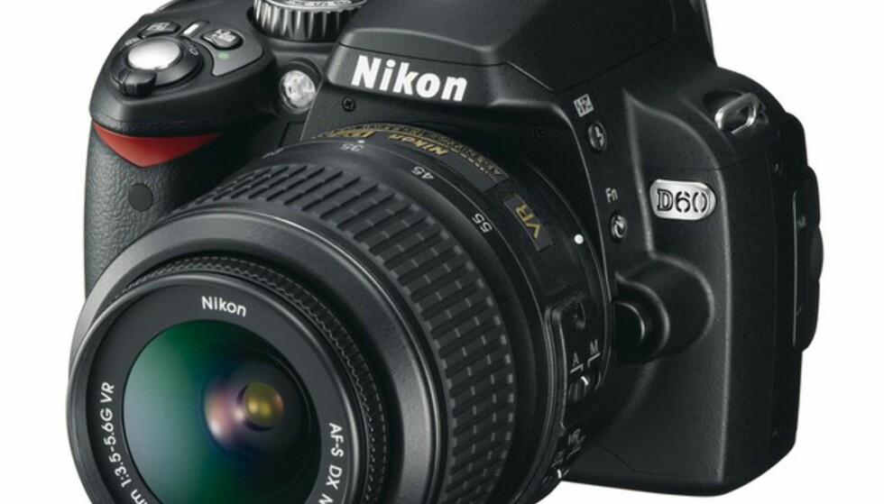 Nikon lanserer D60