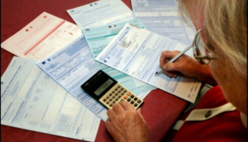 Grunnlaget for den pensjonen du får utbetalt legger du nå. Illustrasjonsfoto: Colourbox.no