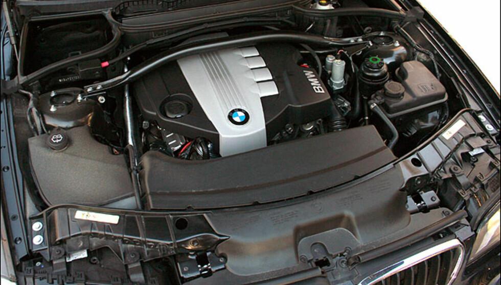 BMWs 2.0d rekkefirer med 177 hk/350 Nm imponerer med effektivitet og kultur. Best i test.