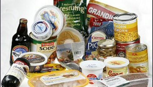 Hva ser du? Sunn eller god mat, eller ekkel mat som fremkaller brekningsfornemmelser? Foto: Per Ervland Foto: Per Ervland