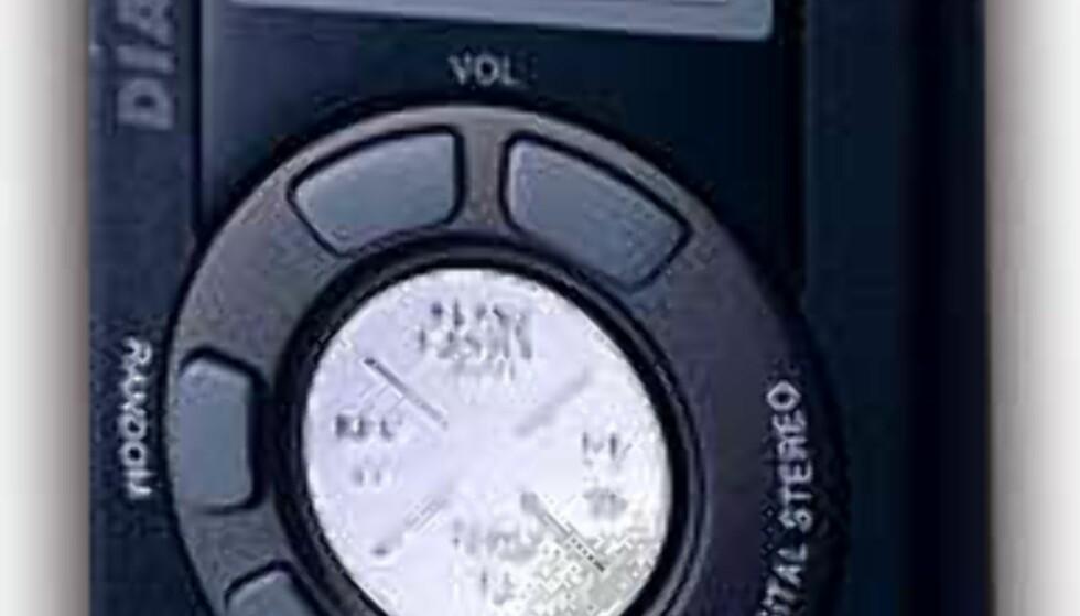 Denne spilleren fra Diamond Multimedia var ikke først, men var den første spilleren som ble en salgssuksess.
