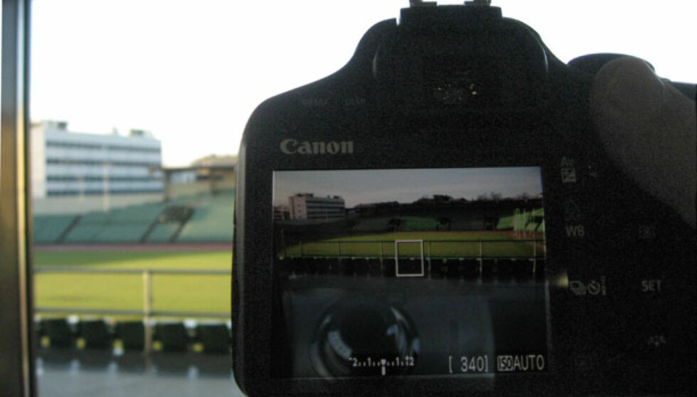 Nytt speilrefleks fra Canon