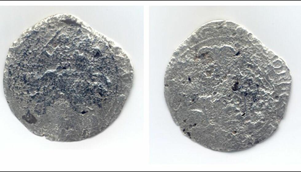 Mynt fra Rundeskatten. Foto: Christian Skauge
