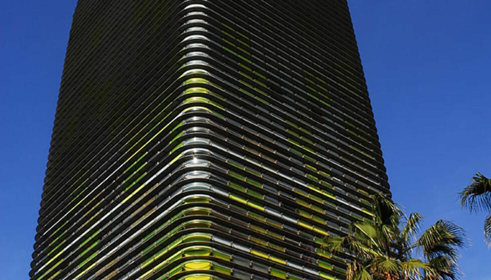 TORRE WOERMANN, GRAN CANARIA: På Las Palmas strekker Torre Woermann seg opp og klør skyene (rasgacielos, som skyskrapere heter på spansk), men øverst har bygget en myk knekk som matcher svungne funkislinjer. Det er de Madrid-baserte arkitektene Iñaki Ábalos og Juan Herreros som står bak det futuristiske anlegget i La Isleta-området. Øverst er det panoramavinduer med utsikt ut til havet. De to arkitektene eksperimenterer mye med blanding av natur- og kunstmaterialer. ADRESSE: Plaza Woermann, Las Palmas NETT: Abalos-Herreros