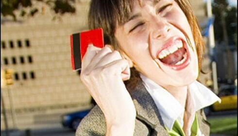 En av tre franske kvinner har et sykelig forhold til shopping. Har du? Illustrasjonsfoto: iStockphoto.com
