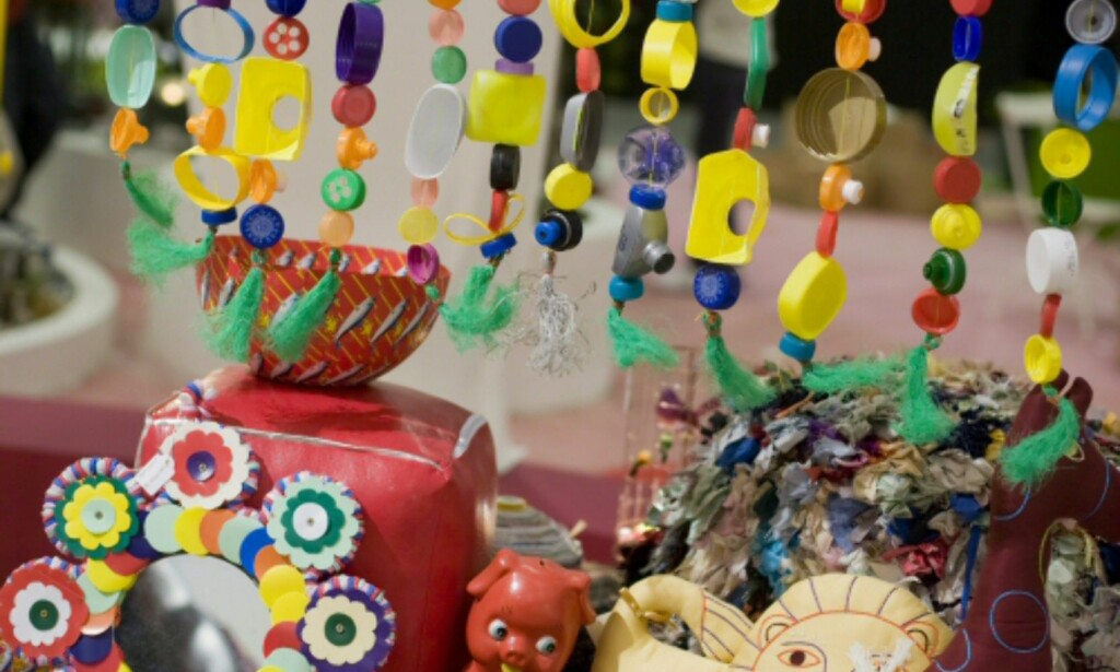 Fargerike detaljer fra Circus-trenden. Foto: Alexander Ruas  Foto: Alexander Ruas