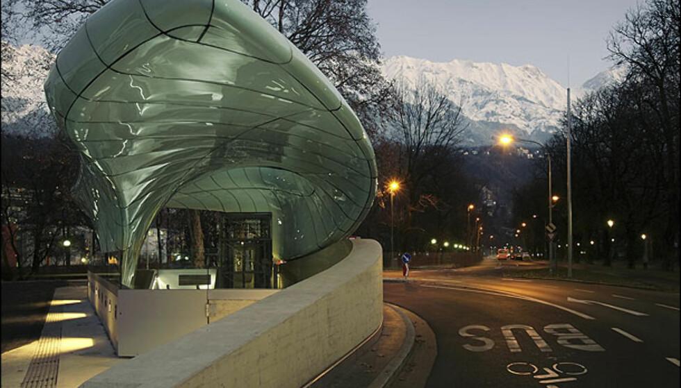Inngangsparti i bygatene. Foto: Tirol Werbung/Stefan Dauth