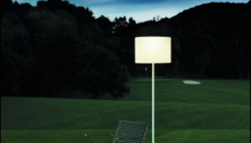 Den ultimate strømsparelampen Zoe lagrer sollys om dagen, som blir til leselys om kvelden. Les mer: Gratis leselys