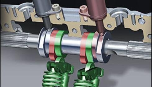 Korte ventilløft: 2,0 og 5,7 mm