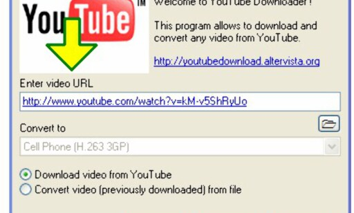 image: YouTube Downloader