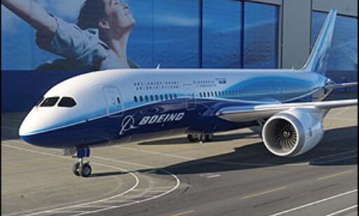 Boeing sliter med Dreamliner. Foto: The Boeing Company