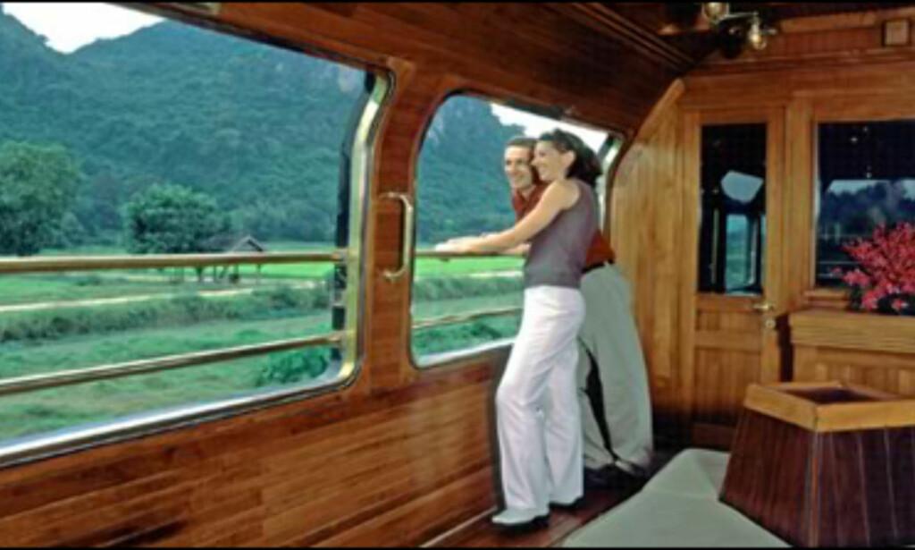Eastern & Oriental Express, observasjonsvogn.