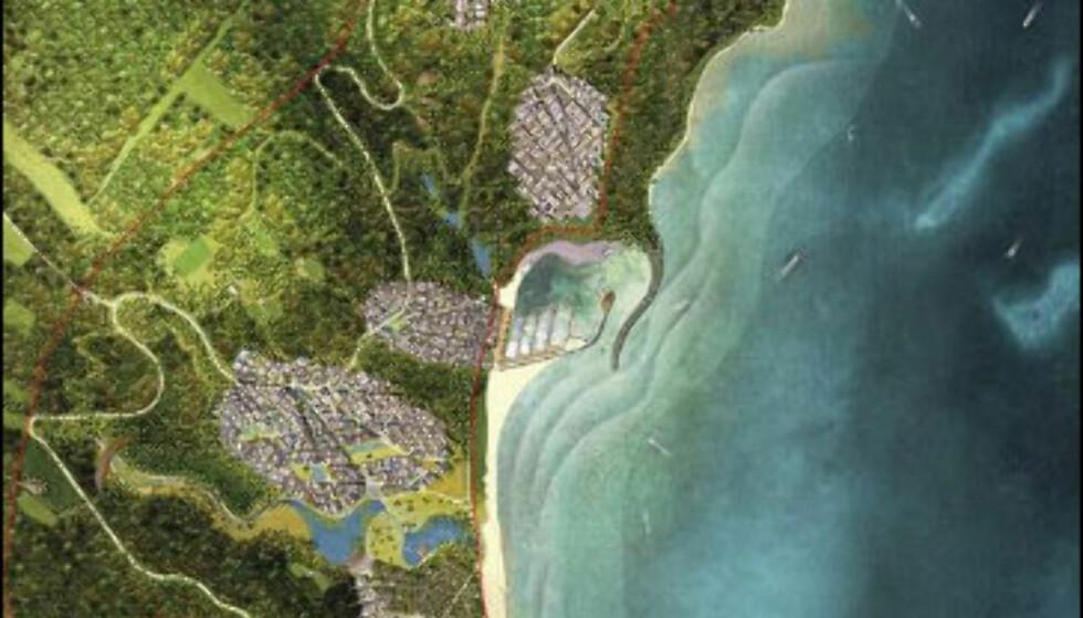 Store bilder: Bilfritt svartehavsresort