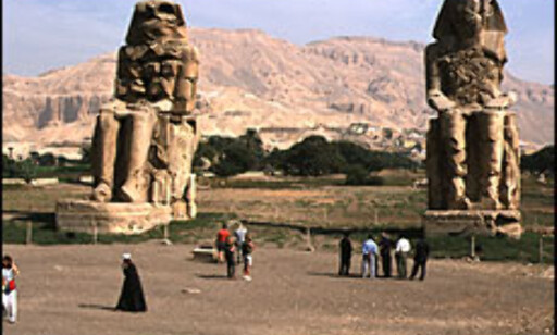 Kongenes Dal i Egypt. Foto: Lars Brubæk Foto: Lars Brubæk