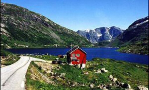 Norge har mange vakre veier- Her fra Gaularfjellet. Foto: Werner Harstad